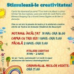 Ateliere de creație, teatru de păpuși și alte surprize la Băneasa Shopping City