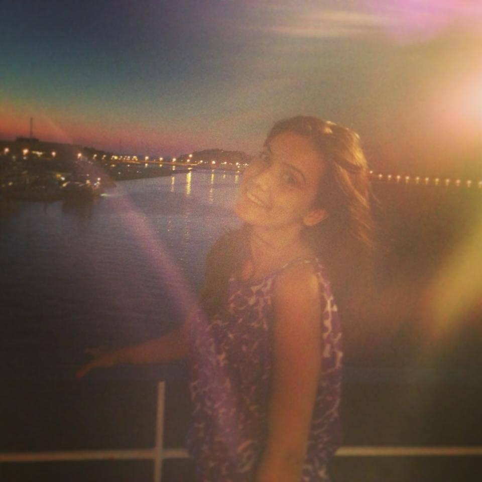 Alexandra Bădoi la Ibiza