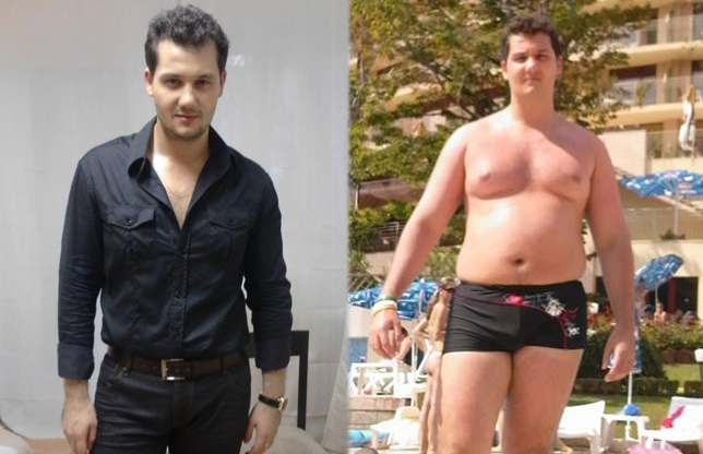 Andrei Laslau a slabit 20kg cu dieta ketogenica