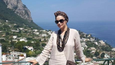 Andreea Marin, vacanta in Capri