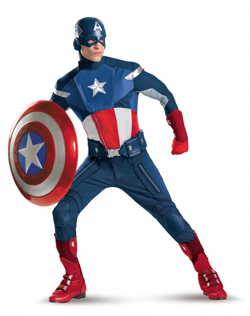 Barbatii prefera costumele din Captain America