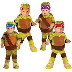 Testoasele Ninja si copiii