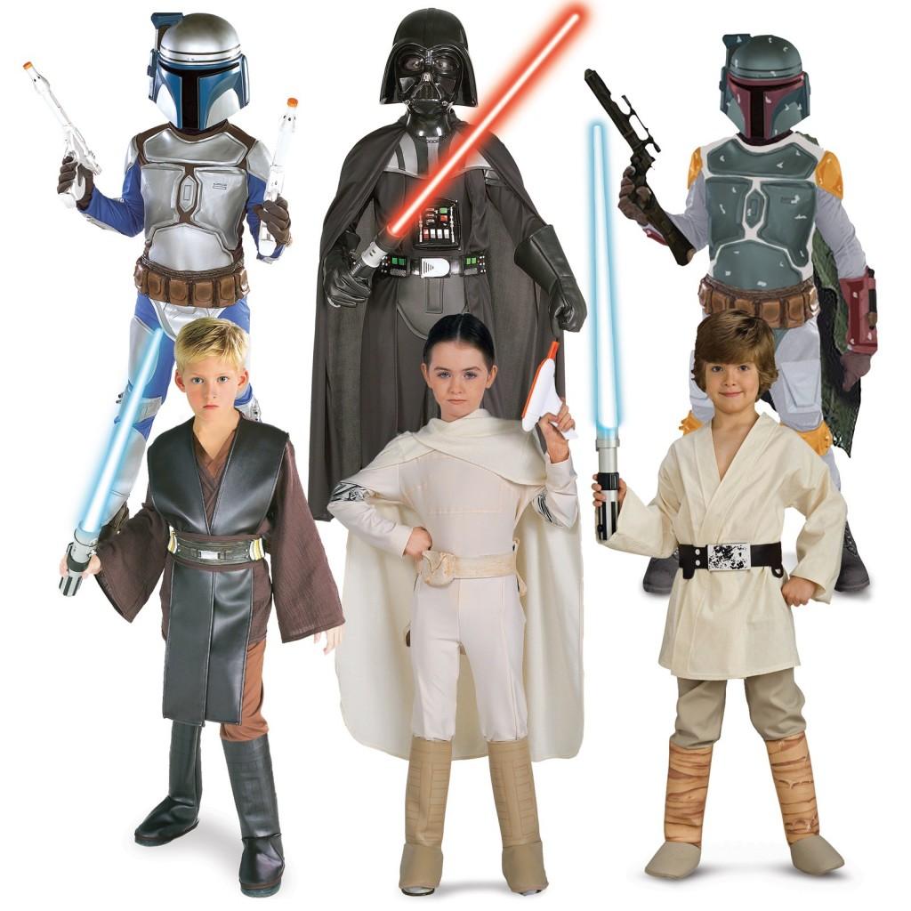 Costumele din Star Wars sunt preferatele adultilor si ale copiilor