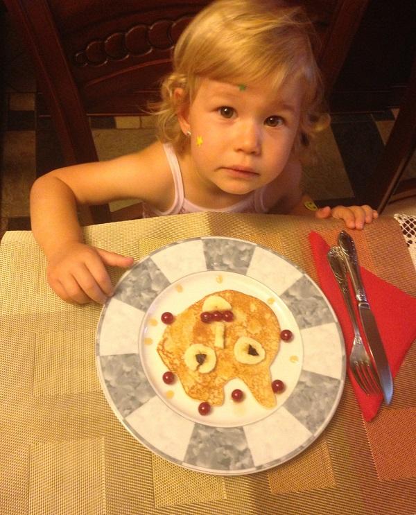 Alesia adora un mic-dejun colorat