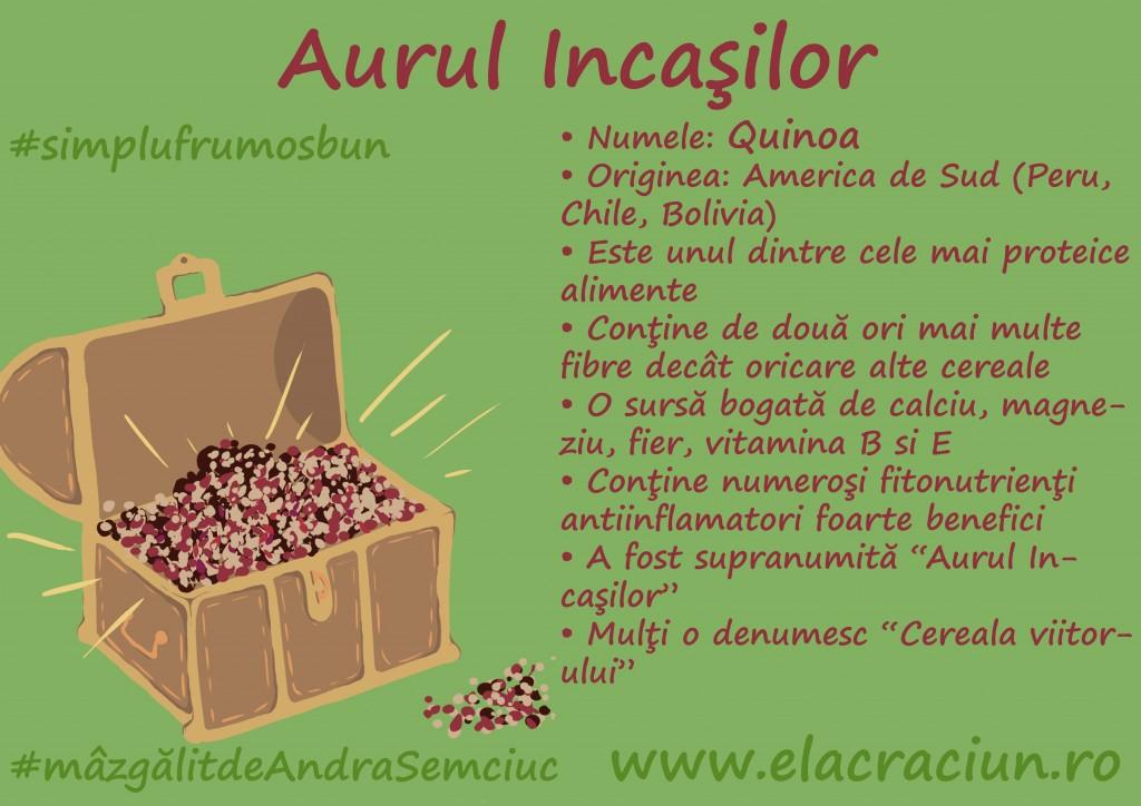 """Superalimentul"" de aur: Quinoa"