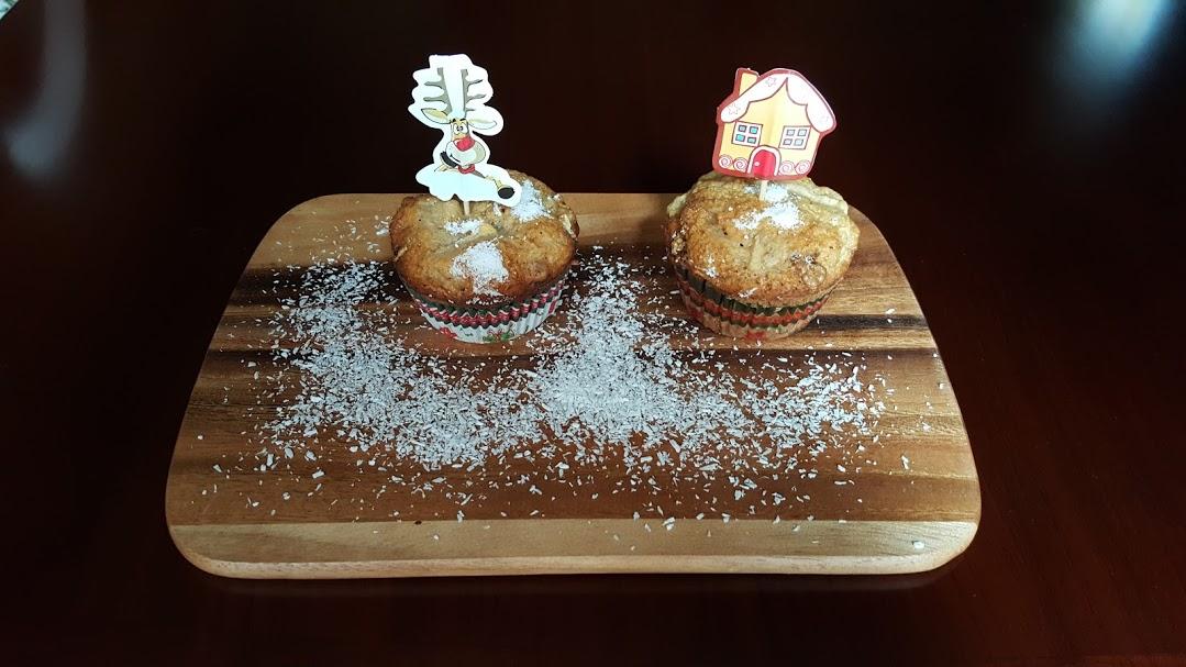 Premieră de Crăciun: primele mele brioșe FĂRĂ zahăr!