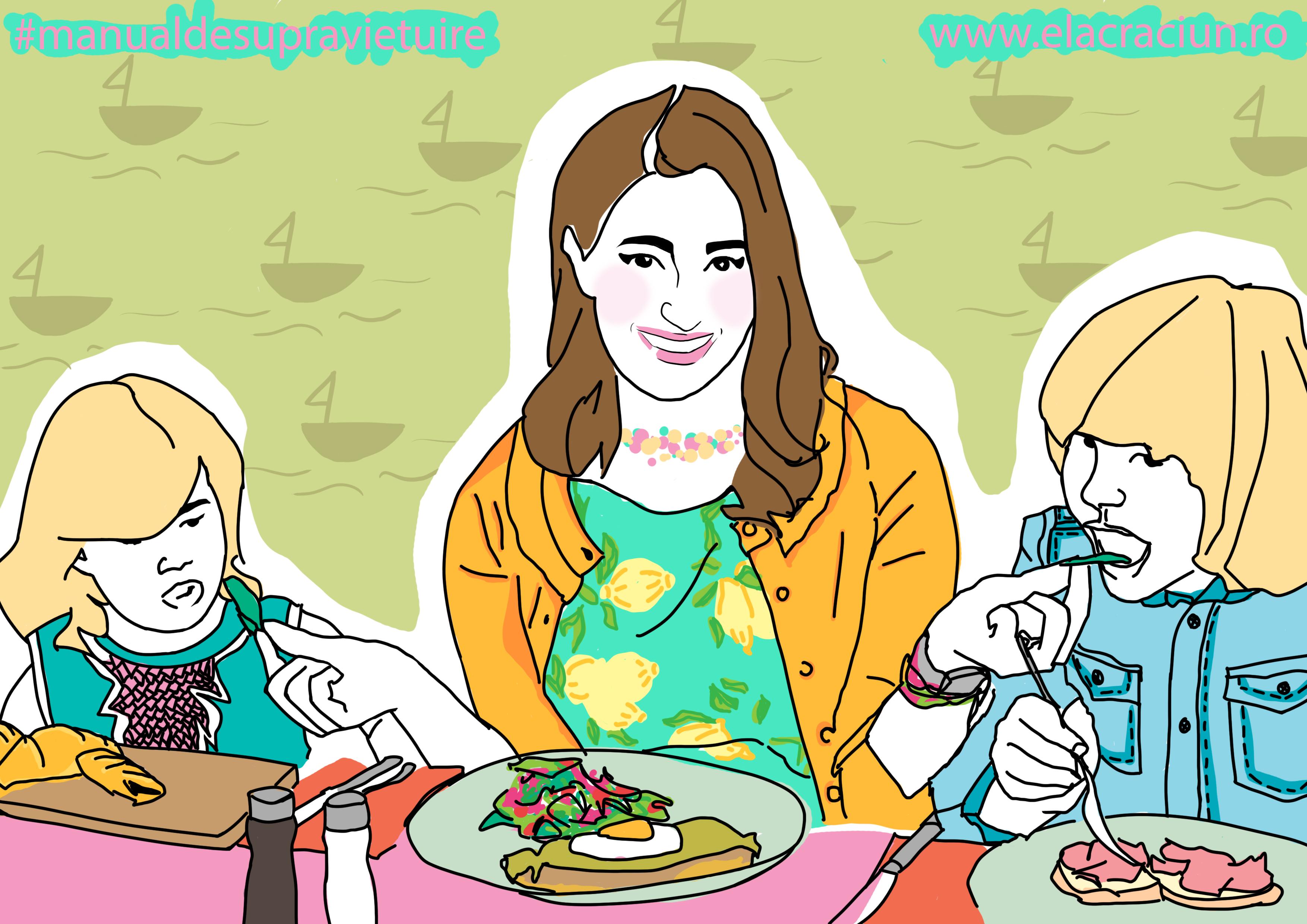 Copiii ce mănâncă în vacanță? Iată ce ne sfătuiește medicul nutriționist!
