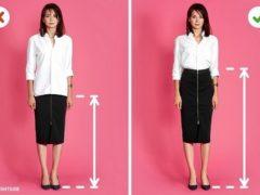 5 trucuri de stil care te fac să pari mai înaltă și mai slabă