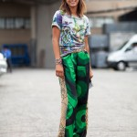 Pantaloni imprimați