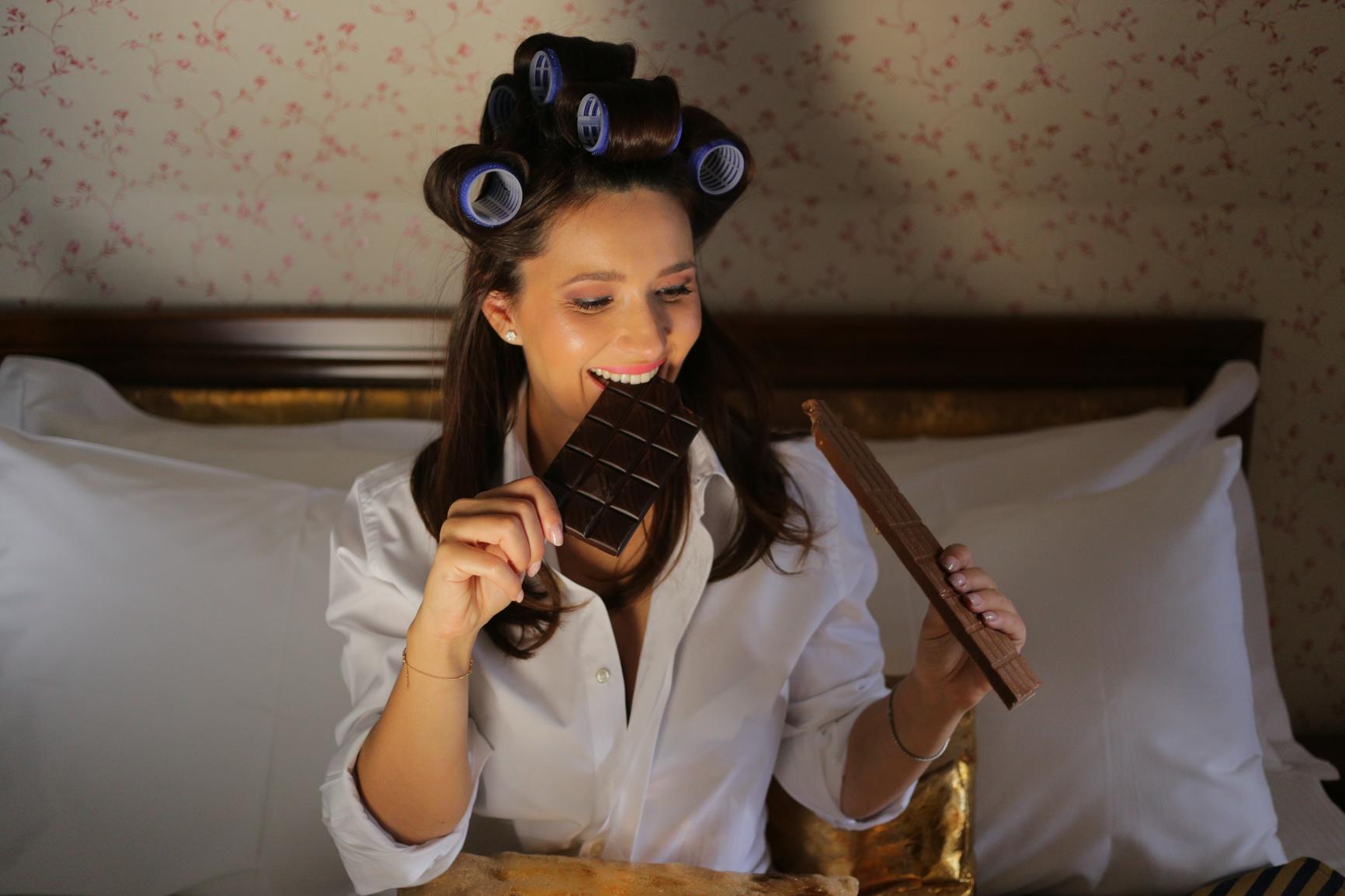 Cadou de V-Day, gata în 10 minute: ciocolata care nu îngraşă!