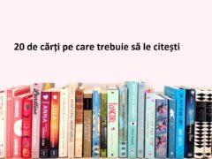 20 de cărți pe care trebuie să le citești într-o viață