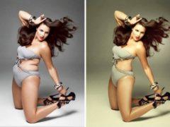 14 fotografii incredibile: înainte și după Photoshop