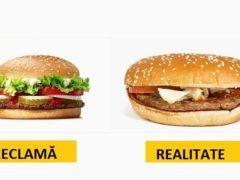 Reclame versus Realitate