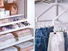 7 modalități incredibil de SIMPLE prin care să îți organizezi dulapul