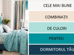 Cele mai bune combinații de culori pentru DORMITOR