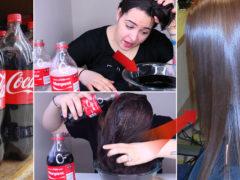 Și-s spălat părul cu suc! Rezultatul e UIMITOR!