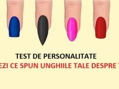 Ce spune culoare unghiilor despre tine