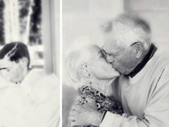15 cupluri și-au recreat pozele din tinerețe și au demonstrat că dragostea adevărată nu se stinge
