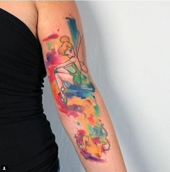 Tatuaje pentru fete si nu numai, inspirate din desenele animate